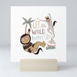 Wild Rumpus Mini Art Print