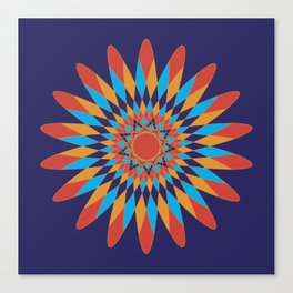 Kaleidoscope Quilt Canvas Print