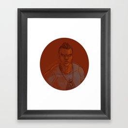 James Vega Framed Art Print