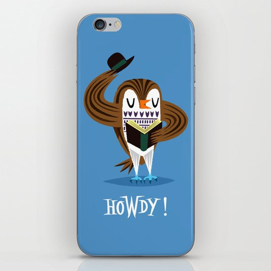 The Howdy Owl iPhone Skin