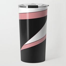 FLASH #pink #black #minimal #art #design #kirovair #buyart #decor #home Travel Mug
