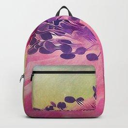 Flat Flower Cartoon Backpack