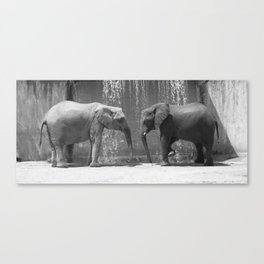 Weight of Love Canvas Print