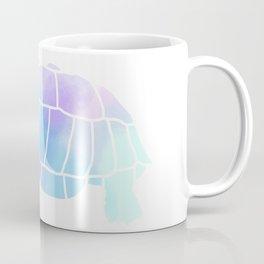 Sulcata Tortoise Silhouette (watercolor) Coffee Mug