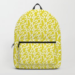 Typography Pattern / Susanne Backpack