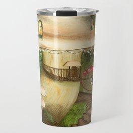 Fungus Cottage -  Ella Springhollow Scene 1 Travel Mug