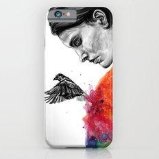 Goodbye depression iPhone 6s Slim Case