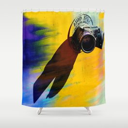 Tagged You're It Shower Curtain