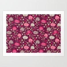 Fancy Floral Art Print