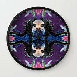 Disco Zilla Wall Clock