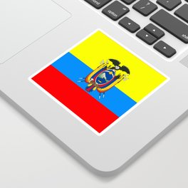 Flag of Ecuador Sticker
