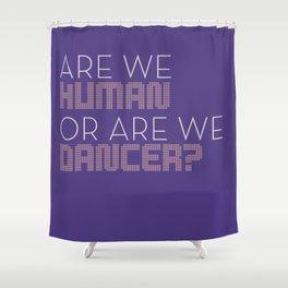 Human Dancer Shower Curtain