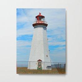 North Cape Lighthouse Metal Print