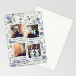 Twins & Chocolate Stationery Cards