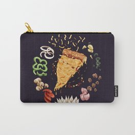 Pizza Mandala Carry-All Pouch