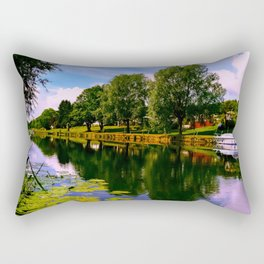 River Perspective. Rectangular Pillow