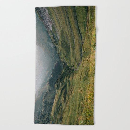 Little People - Landscape Photography Beach Towel