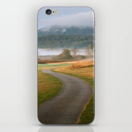 Misty Dawn Golf Course iPhone Skin