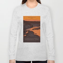 Twin Falls Gorge Territorial Park Long Sleeve T-shirt