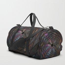 Heptagon space portal Duffle Bag