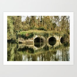 A River Runs Through It, Warwick, England 2006 Art Print