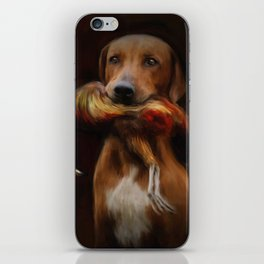 Hunter's Dog iPhone Skin