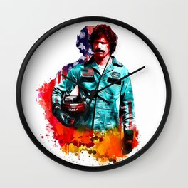 Rod Wall Clock