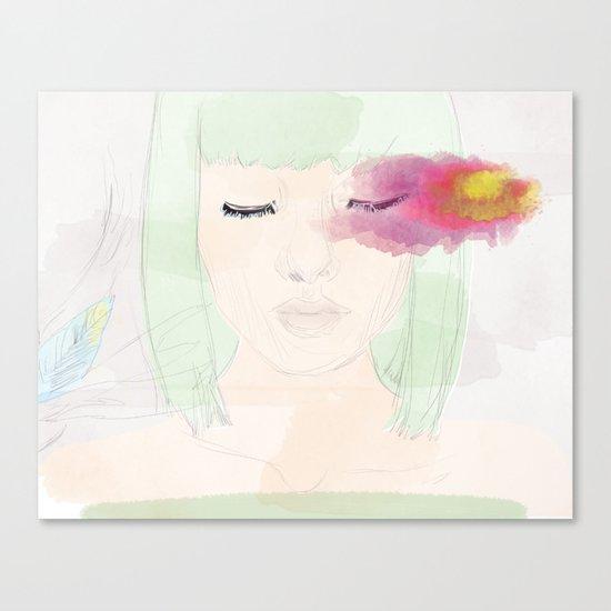 Watery Eyes Canvas Print