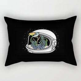Astronaut Helmet Rectangular Pillow