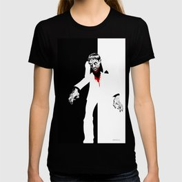THE WORLD IS THIERS Zombie years print T-shirt
