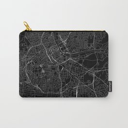 Nashville Black Map Carry-All Pouch