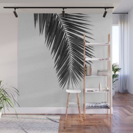 Palm Leaf Black & White I Wall Mural