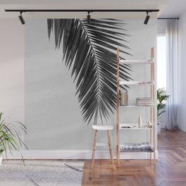 Palm Leaf Black & White I Wall Mural