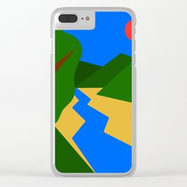 Nature Series: Landscape 1 Clear iPhone Case