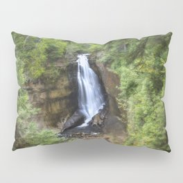 Miners Falls, Munising, Michigan. Pillow Sham