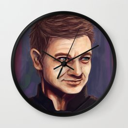 Hawkeye Wall Clock