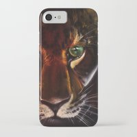jaguar iPhone & iPod Cases featuring Jaguar by mejony