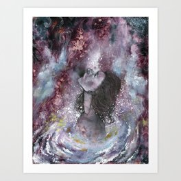 White Hole Art Print