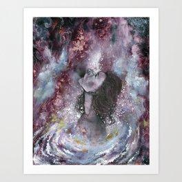 White Hole Art Print
