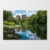 central park Canvas Prints featuring Central Park by hannes cmarits (hannes61)
