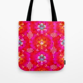 Variations on A Feather IV - Stars Aligned (Firebird Edition) Tote Bag