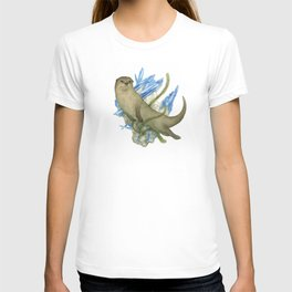 River Otter and Kyanite T-shirt