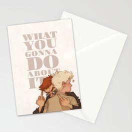 What You Gonna Do? Stationery Cards