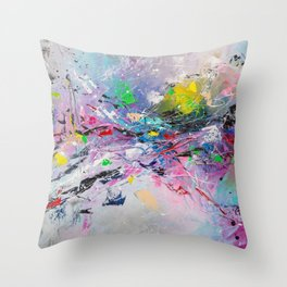 BRIGHT MORNING Throw Pillow