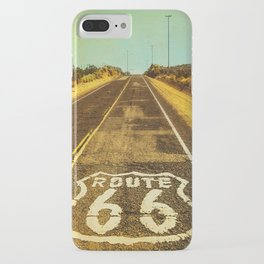 Route 66 Road Marker iPhone Case