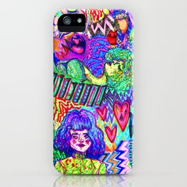 Girls These Days iPhone Case