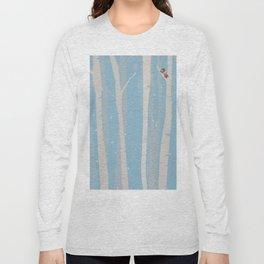 winter birch Long Sleeve T-shirt