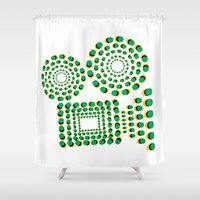 cinema Shower Curtains featuring CINEMA by GAS_