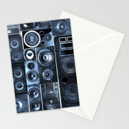 Music Speaker Sound Stack Stationery Cards