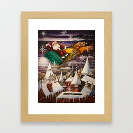 To All a Good Night Framed Art Print